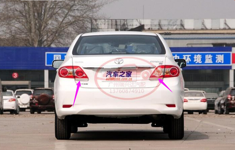 the original, for Toyota Corolla 2011 rear brake lights Left and right taillight<br><br>Aliexpress