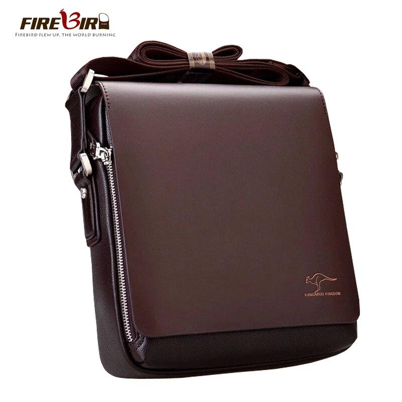 New Kangaroo design leather men Shoulder bags, mens casual business messenger bag,vintage crossbody ipad Laptop briefcase 2071<br><br>Aliexpress