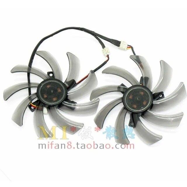 Emacro For  T129215SM, Dua-Fan 12V 0.25A, 96 mm Dia. 39mm c.t.c  Server Round fan<br>