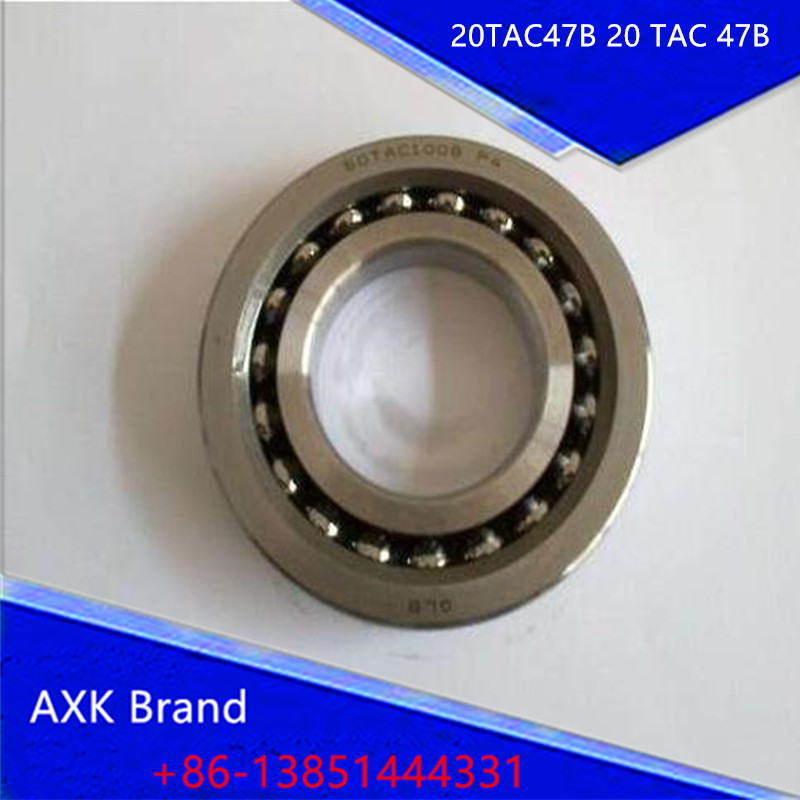 1pcs 20TAC47B 20 TAC 47B SUC10PN7B 20x47x15 AXK High Speed High Load Capacity Ball Screw Support Bearings<br><br>Aliexpress