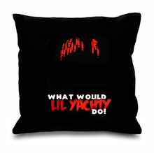 Hot Rap Lil Yachty Throw Pillow Case What Would Lil Yachty Do Cushion Cover Black Hip Hop Music Gift Fashion Modern Home Decor
