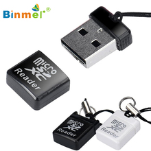 Binmer MINI Super Speed USB 2.0 Micro SD/SDXC TF Card Reader Adapter TOP QUALITY APR 6