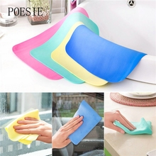 New Arrival! Random Color Multifunction Kitchen Cleaning Towel Car Wash Towel Dry Hair Towel Cleaning Cloth(China)