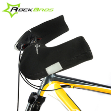 ROCKBROS Windproof Outdoor Sports Mountain Road Bike Gloves Covers For Men &Women In Winter Cycling Winter Gloves  Accessories