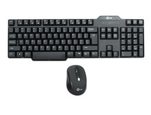 E720 2.4GHz Wireless Keyboard and Mouse Combo Ergonomic Design Multimedia Quiet Keys Small Mouse for Computer Desktop Laptop(China)