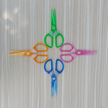 Children not to hurt the hand scissors, colored origami scissors, diy handmade art scissors, child safety scissors