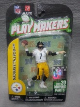 "NEW McFarlane NFL Playmakers Series 3 Ben Roethlisberger Action Figure 3.75"" Pittsburgh Steelers(China)"