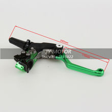 Billet Pivot 3 Direction Foldable Clutch Lever Perch For Kawasaki KX65 KX85 KX125 KX250 KX500 KX250F KX450F KLX450R KLX150