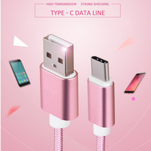 RandGrey USB Type C Cable Original Type-C USB C Fast Charger For Xiaomi Mi5 Mi4C Mi 4s OnePlus 2 3 Nexus 5X 6P MEIZU Pro5 Zuk z1