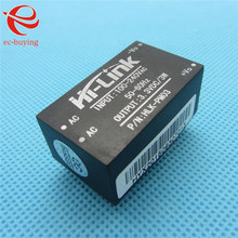 New HLK-PM03 AC-DC 220V to 3.3V Step Down Buck Power Supply Module Intelligent Household Switch Converter(China)