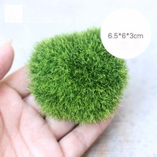 Fake Mini Green Moss Stone For Micro Landscape Garden Ornaments Nature Musci Stone For Decor Gardening Tools Bonsai Display