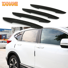 Buy KAHANE 4x Car Styling Carbon Fiber Door Side Edge Protector Sticker Strip Audi BMW VW Mercedes Hyundai Toyota Honda Ford KIA for $5.75 in AliExpress store