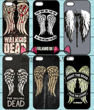 Walking Dead Wings Logo TPU Phone Case for Iphone 4S 5S SE 5C 6 6S 7 Plus Sony Z2 Z3 Compact Z4 Z5 Mini HTC M7 M8 M9 820(China)