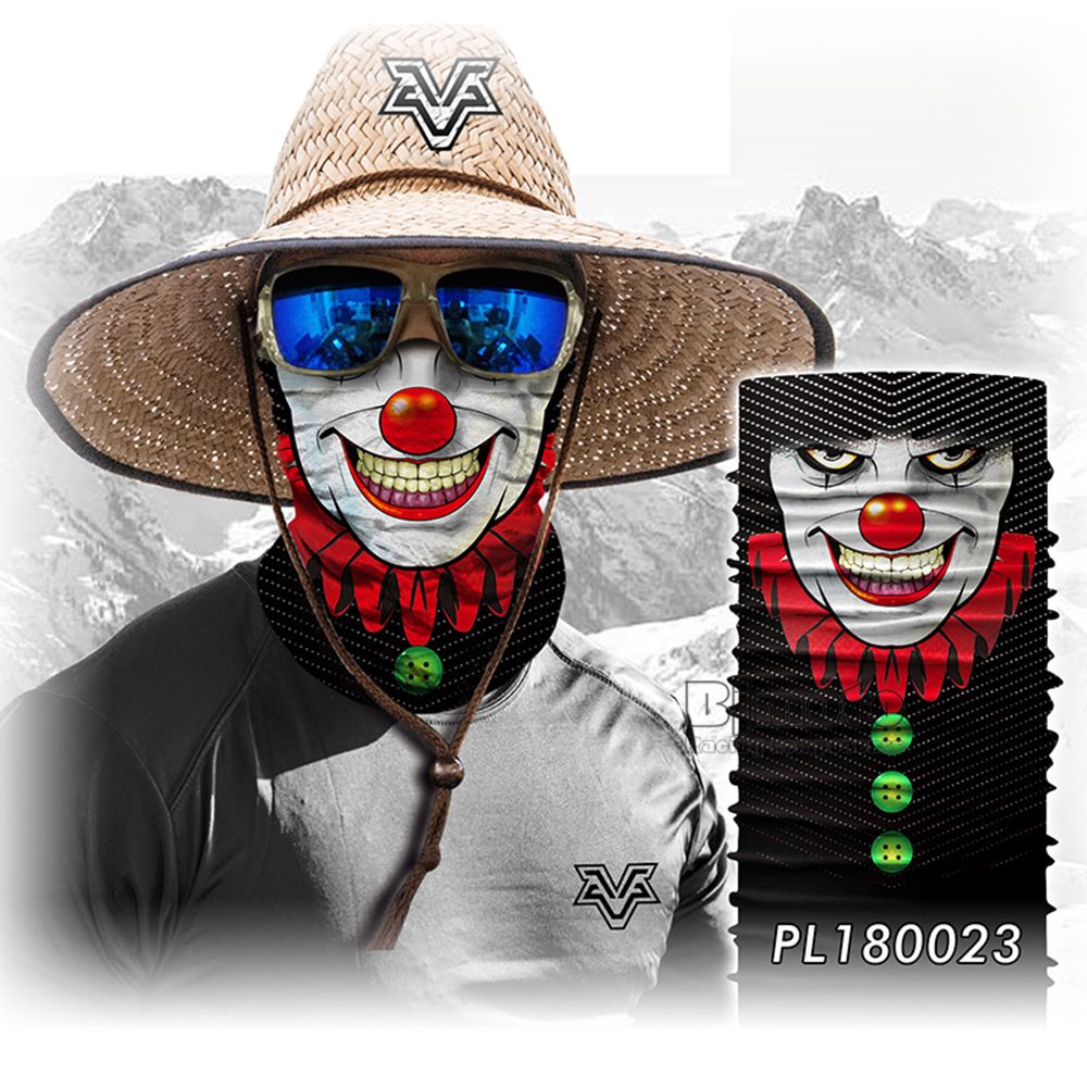 Winter 3D Skull Bandana Face Mask Scarf Bandanas Cycling Bandana Human Face Outdoors Scarves Seamless Skull Balaclava (1)