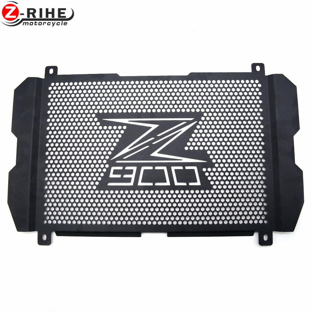 for Motorcycle High Quality Aluminium Radiator Grille Guard Protection For Kawasaki Z900 Z 900 z900 2017 Stainless Steel<br>