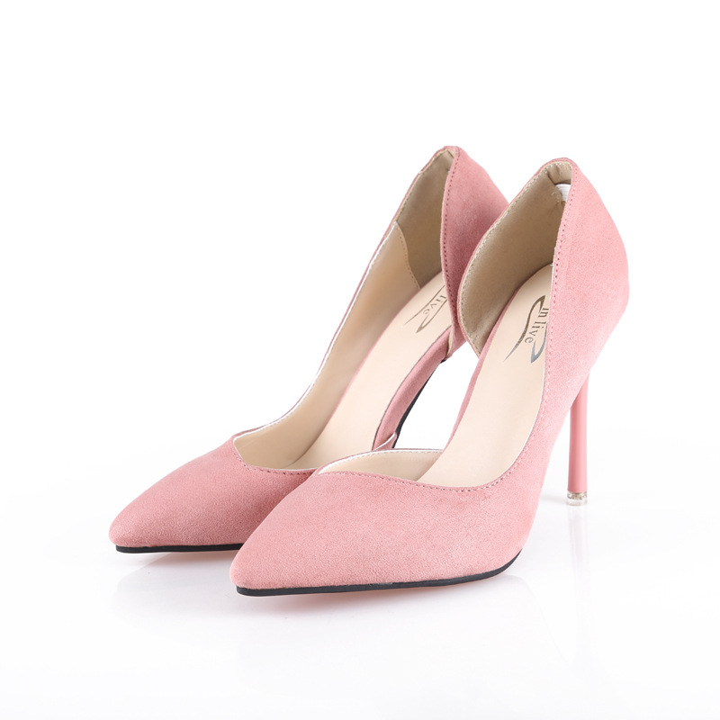 Fashion 2017 Brand Women High Heels Stilettos Pointed Toe Slip On Women Pumps Sexy Ladies Party Shoes <br><br>Aliexpress