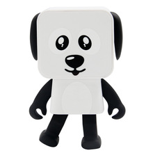 Robot Speaker Bluetooth Wireless Dog Cute Cartoon Speakers Mini Dance With Micro Call Function for Smart Phone(China)