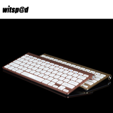 Witsp@d Ultra Slim Wireless Keyboard for iPhone USB keyboard Wireless For Xiaomi Cell Phone with Desktop PC(China)
