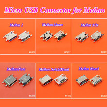 cltgxdd 1PCS Micro USB jack for phone charging connector terminal used for Meizu Meilan 1 2 3 3s max note 2 3 metal phone(China)