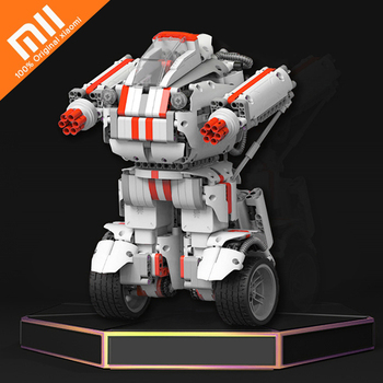 Original Xiaomi MITU Robot DIY Mobile Phone App Control Self-assembled Toy kits Toys for Children Robot Building STM32 CPU Cool