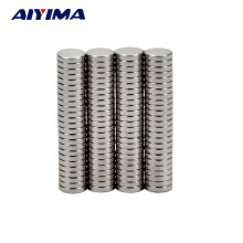 AIYIMA 100pcs Round Diameter 5mm x 1mm Strong Magnetic Rare Earth Neodymium Magnets 5*1mm Teaching Magnets For DIY 5mm*1mm