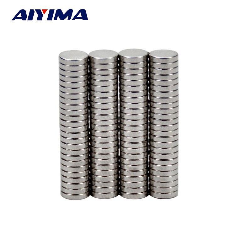 Aiyima 100 шт. круглый диаметр 5 мм x 1 мм сильных магнитных редкоземельные магниты 51 мм Учебные магниты для DIY 5 мм 1 мм(China (Mainland))