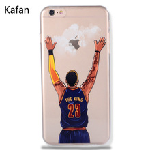For NBA Basketball Phone Case for iphone 5 5se 6 6s 7 plus Cases Jordan 23 James Harden Curry Bryant Hard Back Cover NBA Jersey