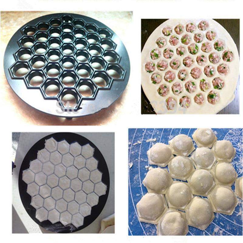 Kitchen pack jiaozi tools DIY dumpling mold maker dough press dumpling 37 holes dumpling making machine   ZF<br>
