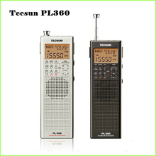 Tecsun PL 360 portable radio usb digital AM FM pocket radio recorder Shortwave PLL DSP ETM SW MW LW Receiver pl-360