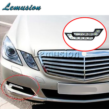 Car LED Daytime Running Lamp Fog Lights 12V For Lexus RX NX GS CT200H GS300 For Infiniti q50 FX35 G35 G37 Cadillac CTS SRX ATS(China)