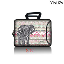 Elephant Laptop Sleeve Tablet Bag Notebook Case For 10.1 12 13.3 14 15.6 17 17.3 Computer cover For Asus HP Acer Lenovo SBP-5787(China)