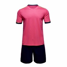 2017 New design Mens Football Soccer Jerseys Teens Football Training Sets Breathable Sports Jerseys Custom Sports Suit Uniform