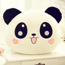 Giant Panda Pillow Mini Plush Toy Stuffed Animal Doll Pillow Plush Bolster Pillow Doll Valentine's Day Gift Kids Gift 20cm(China)