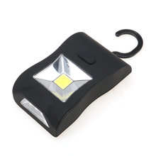 5W COB LED Flashlights AAA Battery Work Light Torches lanterna with Magnet Hanging Hook Tactical Lamp for Outdoors