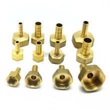 Brass Female Barb Hose Tail Fitting Fuel Air Gas Water Hose Oil 4m-12m 1/8'' 1/4'' 1/2''(China)