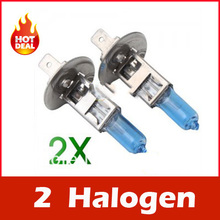 2X Orignal germany diamond vision H1 12V Car Auto Head Lamp Super White 5000K 55W Halogen Xenon bulb Free Shipping AAA