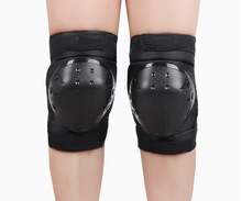 Armor knee pads. Outdoor sports protection, wear comfortable and convenient, motorcycle riding, ski skateboarding
