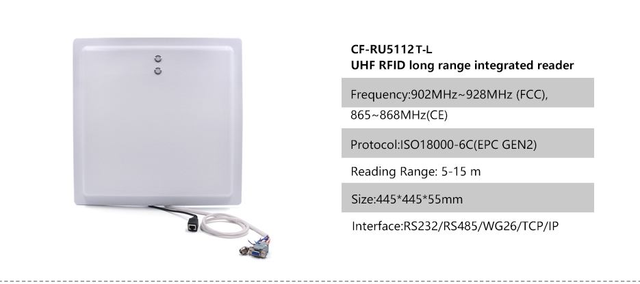 Integrated uhf long range reader(1)