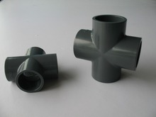 retails and wholesale pvc pipe fitting/cross DN50 with good price and good quality,inside diameter is 63mm