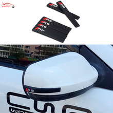 Car Door Anti-collision Strips Rearview Mirror Anti-Rub Bumper Protector Audi A3 A4 B6 B7 B8 A6 C6 C7 C8 A5 Q3 Q5 Q7 S3 - axiauto Accessories Store store