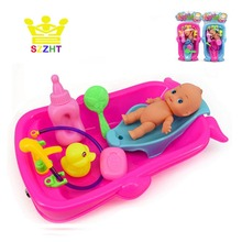 Baby Bath Toys Water Toys for Children Kids Newborn Early Educational Bathroom Game Play Set Bathtub Cognitive Floating Toy Gift