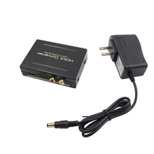 1080P HDMI to HDMI Optical + SPDIF + RCA L/R Extractor Converter Audio Splitter High Qulaity