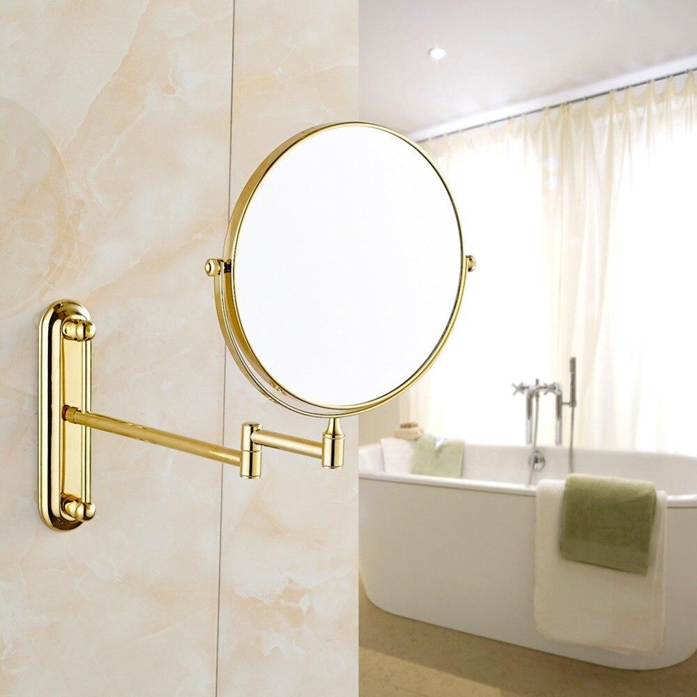 Bathroom makeup mirror