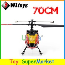 Newest WLtoys V913 Big RC Helicopter Remote Control Toys 4CH 2.4GHz Radio RTF Single Blade 70cm Large 2014 new As MJX T40 F45