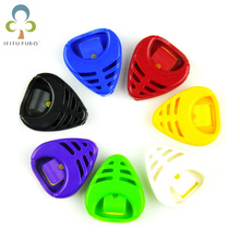 5Pcs/lot NEW Durable Alice Plastic Guitar Pick Picks Collection Holder Accessories Case Box Acoustic Electric Parts GYH