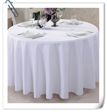 "Big Discount & Factory Price!!! 132"" Round Polyester 10pcs White Table Cloth For Wedding &Party &Hotel &Resturant  FREE SHIPPING"