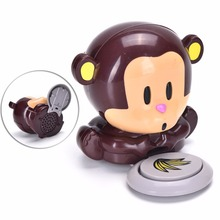 1Pc  Cute Monkey Nail Dryer Hand Nail Art Tips quick blow For Curing Nail Dryer Nail Gel Polish Dryer Blower Manicure Care