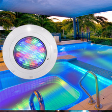 Swimming Pool Light 18W 24W 36W AC/DC 12V RGB+Remote Controller Outdoor Lighting IP68Waterproof Underwater Lamp Pond Light(China)