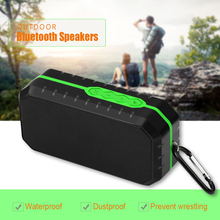 Portable Wireless Bluetooth Speaker Hifi Subwoofer dust/shock Proof Waterproof Support TF Card Radio Outdoor Speakers For Phone