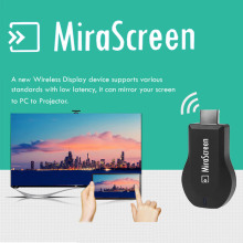 New Mirascreen DLNA Airplay WiFi Display Miracast TV Dongle HDMI Receiver Mini Android Multi-display 1080 Full HD(China)